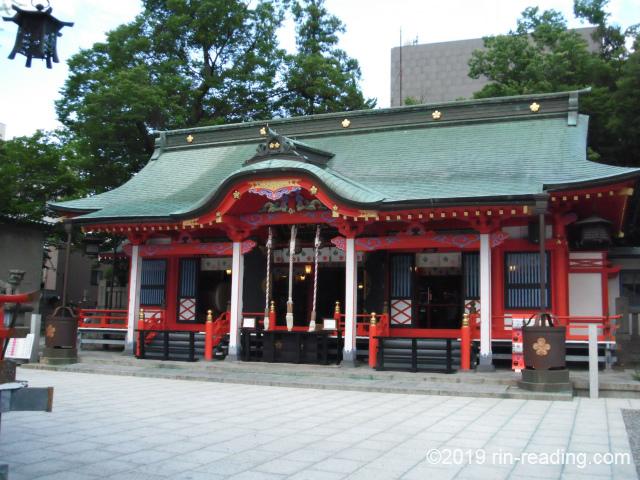 深志神社の拝殿